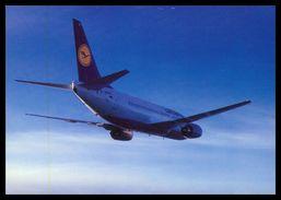 AIRPLANES - MODERN ERA -«LUFTHANSA» 737-300  Carte Postale - 1946-....: Moderne
