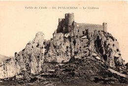 CPA PUYLAURENS 11 Le Château - France
