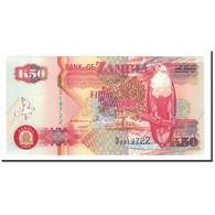 Billet, Zambie, 50 Kwacha, 1992, KM:37a, NEUF - Zambie