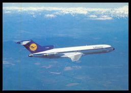 AIRPLANES - MODERN ERA -«LUFTHANSA»B 727 Europa Jet Carte Postale - 1946-....: Moderne