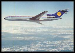 AIRPLANES - MODERN ERA -«LUFTHANSA»  B 727. Carte Postale - 1946-....: Moderne