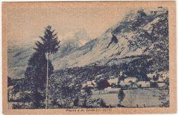 398 - PLEZZO E MONTE CANIN FOTO GALLIZIA UDINE 1920 CIRCA - Eslovenia