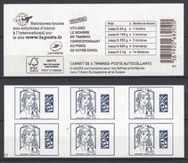 Carnet Marianne De Ciappa  Bleu Europe. -2 De RGR - Carnets
