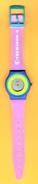 ADVERTISEMENT WATCHES - TECNISON 92 / 01 (PORTUGAL) - Advertisement Watches