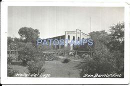 84066 PARAGUAY SAN BERNARDINO DTO CORDILLERA HOTEL DEL LAGO POSTAL POSTCARD - Paraguay