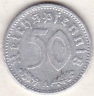 Allemagne, IIIème Reich, 50 Reichspfennig 1935 A (BERLIN)  Aluminium - [ 4] 1933-1945 : Third Reich