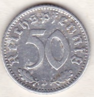Allemagne, IIIème Reich, 50 Reichspfennig 1935 D (MUNICH)  Aluminium - [ 4] 1933-1945 : Third Reich