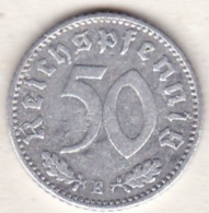 Allemagne, IIIème Reich, 50 Reichspfennig 1935 E (MULDENHUTTEN)   Aluminium - [ 4] 1933-1945 : Third Reich