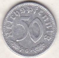 Allemagne, IIIème Reich, 50 Reichspfennig 1935 G (KARLSRUHE)    Aluminium - [ 4] 1933-1945 : Third Reich