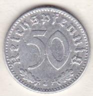 Allemagne, IIIème Reich, 50 Reichspfennig 1935 J (HAMBOURG)    Aluminium - [ 4] 1933-1945 : Third Reich