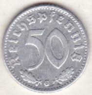 Allemagne, IIIème Reich, 50 Reichspfennig 1939 G (KARLSRUHE)    Aluminium - [ 4] 1933-1945 : Third Reich