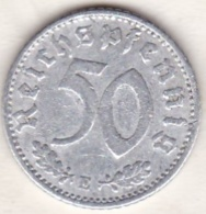 Allemagne, IIIème Reich, 50 Reichspfennig 1940 E (MULDENHUTTEN)     Aluminium - [ 4] 1933-1945 : Third Reich