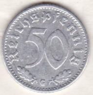 Allemagne, IIIème Reich, 50 Reichspfennig 1940 G (KARLSRUHE)    Aluminium - [ 4] 1933-1945 : Third Reich