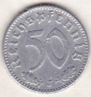 Allemagne, IIIème Reich, 50 Reichspfennig 1941 J (HAMBOURG)     Aluminium - [ 4] 1933-1945 : Third Reich