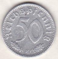 Allemagne, IIIème Reich, 50 Reichspfennig 1942 F (STUTGART)    Aluminium - [ 4] 1933-1945 : Third Reich