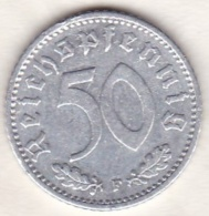 Allemagne, IIIème Reich, 50 Reichspfennig 1944 F (STUTGART)     Aluminium - [ 4] 1933-1945 : Third Reich