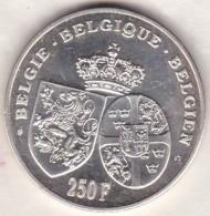 BELGIQUE . 250 Francs 1995, 60th ANNIVERSARY DEATH QUEEN ASTRID.  Argent - 1993-...: Albert II