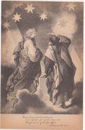 421 - DANTE ALIGHIERI DIVINA COMMEDIA PARADISO CANTO XXI TERZINA 11 ED BOTTONI ROMA 1900 CIRCA - Oggetti D'arte