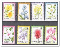 Uganda 1990, Postfris MNH, Flowers - Oeganda (1962-...)