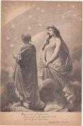 426 - DANTE ALIGHIERI DIVINA COMMEDIA PARADISO CANTO I TERZINA 22 ED BOTTONI ROMA 1900 CIRCA - Belle-Arti