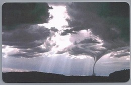 DE.- Telefoonkaart. Telecom TELEFONKARTE. 12 DM. - Unbändig Wütet Der Tornado übers Land. - Duitsland