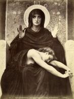 France Arts Peinture Luxembourg Vierge Consolatrice Par William Bouguereau Ancienne Photo 1900 - Photographs