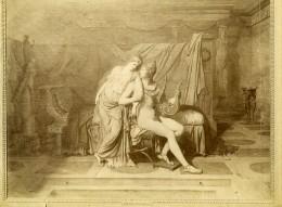 France Arts Peinture Louvre Les Amours De Pâris Et D'Hélène Jacques Louis David Ancienne Photo 1900 - Photographs