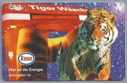 DE.- Telefoonkaart. Telecom TELEFONKARTE. 12 DM. - ESSO. Hier Ist Die Energie. Tiger Wasche. - P & PD-Reeksen : Loket Van D. Telekom