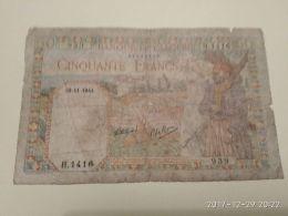 50 Francs 1944 - Algeria