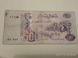 500 Francs 1988 - Algeria