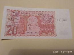 20 Francs 1983 - Algeria