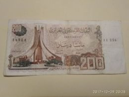200 Francs 1983 - Algeria