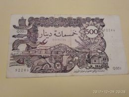 500 Francs 1970 - Algeria