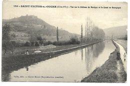 SAINT VICTOR SUR OUCHE - Vue Sur Le Château De Marigny Et Le Canal De Bourgogne - Non Classificati