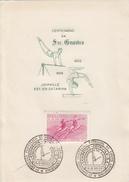 TURNSPORT-GYMNASTICS-GYMN ASTIQUE-GINNASTICA-SPORT, Special Stamp / Cover / Postmark !! - Gimnasia