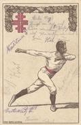 TURNSPORT-GYMNASTICS-GYMN ASTIQUE-GINNASTICA-SPORT, Special Stamp / Cover / Postmark !! - Gymnastik