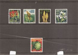 AOF -Fleurs ( 68/72 XXX -MNH) - A.O.F. (1934-1959)