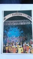 EUROTUNNEL - 22/05/1991 - LA PREMIERE JONCTION SOUS MER D4UN TUNNEL FERROVIAIRE - Railway