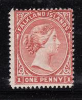 Falkland Islands 1902 MH  Scott #12 1p Victoria - Falkland