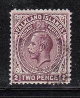Falkland Islands 1912-1914 Used Scott #32 2p George V - Falkland