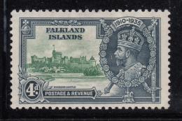 Falkland Islands 1935 MH Scott #79 4p George V Silver Jubilee - Falkland