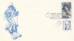 SKI ALPIN-ALPINE SKIING-SCI ALPINO-NORDISCH-NORDIC-SPORT, Special Cover / Stamp / Postmark  !! - Ski