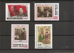 Lénine ( 440/443 XXX -MNH- De Haute-Volta) - Lenin