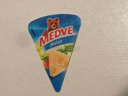 Cheese Queso Kase Label Etikette Etiqueta Hungary Medve Nature - Käse