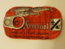Sardines Sardine Sardinia Armorial Label Etikette Etiqueta - Labels