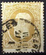 BELGIQUE              N° 32             OBLITERE - 1869-1883 Leopold II