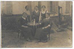 Personnes De RESIGNY - Le 11 Juillet 1917 - CARTE PHOTO - France