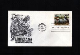 USA 1984  Interesting Environment FDC - Umweltschutz Und Klima