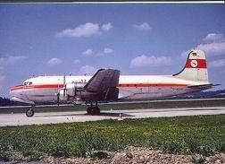 Aviation Postcard-279 MEY AIR Douglas DC-4 - 1946-....: Moderne