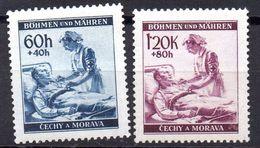 LOTE 1540   ///    (C037) BOHEMIA Y MORAVIA. AÑO 1941   Mi 62/63*MH   ¡¡¡¡¡LIQUIDATION !!!! - Bohemia Y Moravia